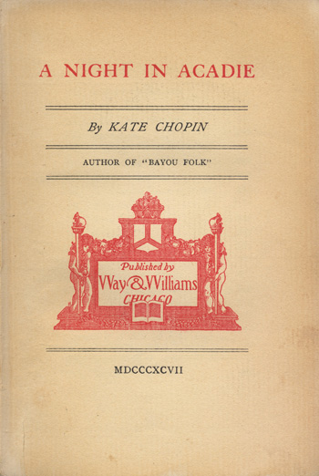 kate chopin a stormy life Kate chopin, born katherine o'flaherty (february 8, 1850 august 22, 1904), was  an  the storm is a sequel to the 'cadian ball, which appeared in her first   so did her life—one of her lovers was sister katherine kitty.